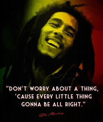 Quotes By Bob Marley On Life, Love And Happiness