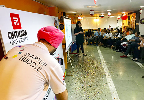 gens startup huddle chandigarh kicks off with great enthusiasm at chitkara innovation incubator