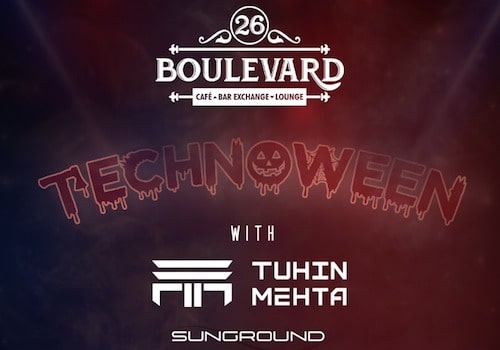 halloween party at 26 boulevard chandigarh