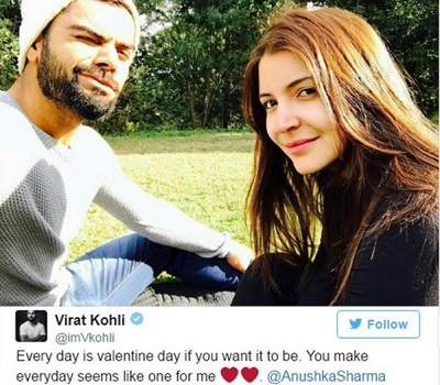 much in love virat and anushka makes their relationship official