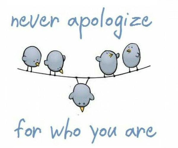 sometimes withholding apologies can be empowering